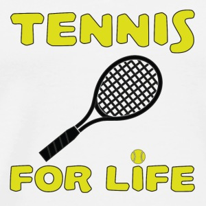 Tennis for life T-Shirts - Men's Premium T-Shirt