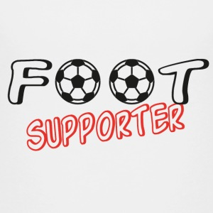 Foot supporter T-shirts - Teenager premium T-shirt