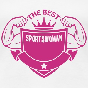 The best sportswoman T-shirts - Premium-T-shirt dam