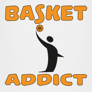 Basket addict T-shirts - Premium-T-shirt barn