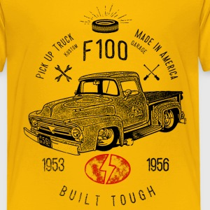F100 Built Tough, Vintage T-Shirts - Kinder Premium T-Shirt
