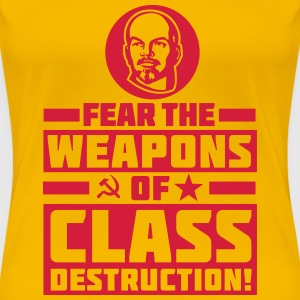 Class Destruction T-shirts - Dame premium T-shirt