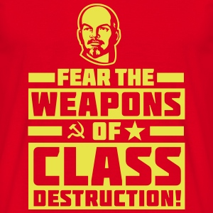 Class Destruction T-Shirts - Men's T-Shirt