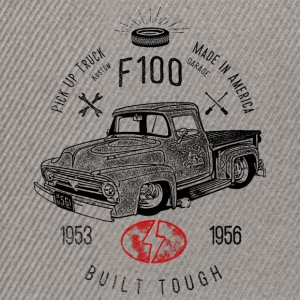 F100 Built Tough, Vintage - Snapback Cap