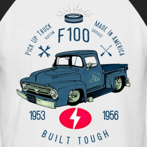 F100 Built Tough T-Shirts - Männer Baseball-T-Shirt