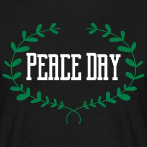 Peace Day T-Shirts - Männer T-Shirt