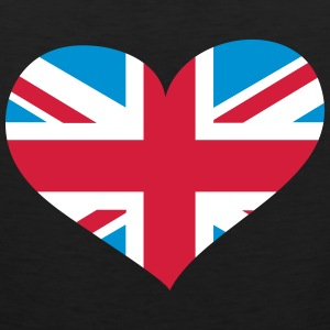 United Kingdom Herz; Heart UK Vêtements de sport - Débardeur Premium Homme