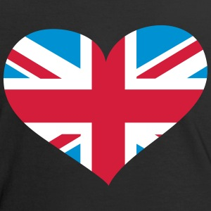 United Kingdom Herz; Heart UK T-Shirts - Women's Ringer T-Shirt
