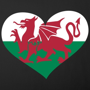 Wales Herz; Heart Wales Other - Sofa pillow cover 44 x 44 cm