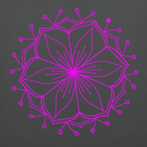 Pink Lotus Mandala - Tote Bag