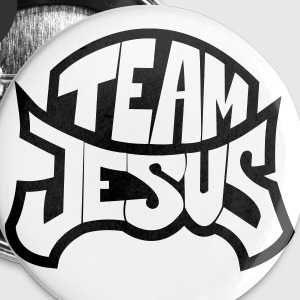 Team Jesus Buttons & Anstecker - Buttons groß 56 mm