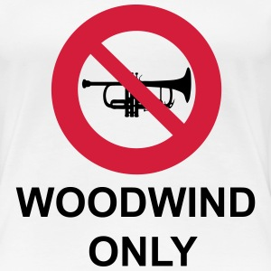 Woodwind  Only T-shirts - Dame premium T-shirt