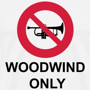 Woodwind  Only T-Shirts - Men's Premium T-Shirt