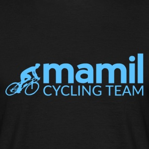 Middle aged men in lycra Cycling Team - Men's T-Shirt