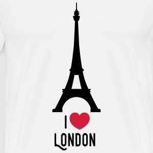 london T-shirts - Mannen Premium T-shirt