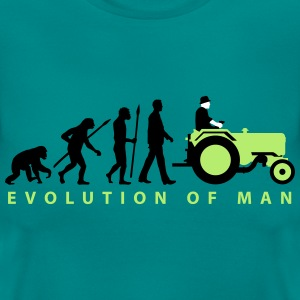 evolution_bauer_mit_traktor_09_201602_3c T-Shirts - Frauen T-Shirt