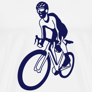 courses cyclistes Tee shirts - T-shirt Premium Homme