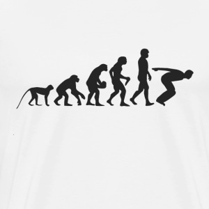 Evolution Jump T-shirts - Mannen Premium T-shirt