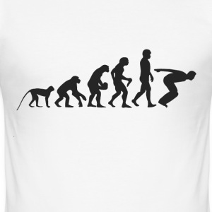 Evolution Jump T-Shirts - Men's Slim Fit T-Shirt