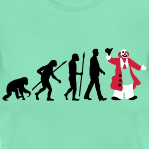 evolution_des_mannes_clown_09_201603_3c T-Shirts - Frauen T-Shirt