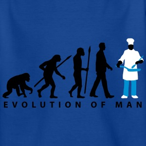 evolution_koch_pfanne_09_201601_3c T-Shirts - Kinder T-Shirt