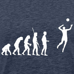 évolution de volley-ball Tee shirts - T-shirt Premium Homme
