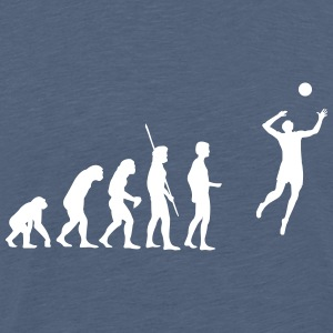 evolution Volleyball T-shirts - Herre premium T-shirt