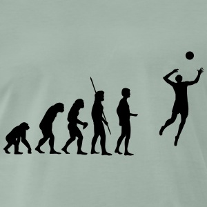 evolution volleyboll T-shirts - Premium-T-shirt herr