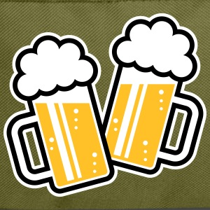 2 Clinking Beer Glasses For A Cheer! (3C) Backpack - Backpack