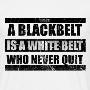 quote 1 blk.png T-Shirts - Men's T-Shirt