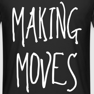 making moves T-Shirts - Männer Urban Longshirt
