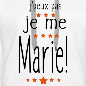 Je Me MARIe Sweat-shirts - Sweat-shirt à capuche Premium pour femmes