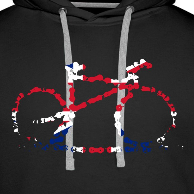 GB cycling bike chain hoodie