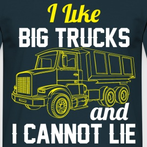 I Like Big Trucks & I Cannot Lie T-Shirts - Men's T-Shirt