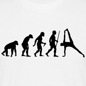 Evolution Yoga (Vasisthasana) T-Shirts - Men's T-Shirt