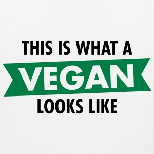 This Is What A Vegan Looks Like Sportsbeklædning - Herre Premium tanktop