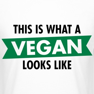 This Is What A Vegan Looks Like T-shirts - Herre Urban Longshirt