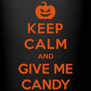 Keep Calm Give Me Candy - Funny Halloween Mugs & Drinkware - Full Colour Mug