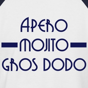 Apero  Mojito Gros dodo Tee shirts - T-shirt baseball manches courtes Homme