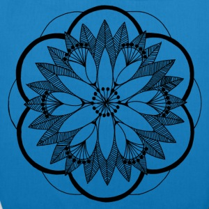Pond Bouquet Mandala - EarthPositive Tote Bag