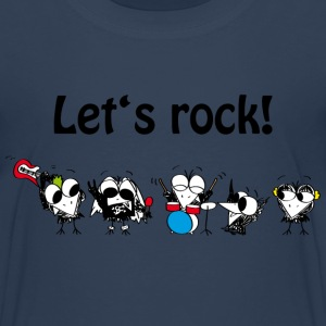Let's rock! T-Shirts - Kinder Premium T-Shirt