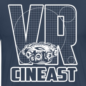 Virtual Reality Cineast - Männer Premium T-Shirt