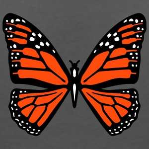 Snowy butterfly T-Shirts - Women's V-Neck T-Shirt