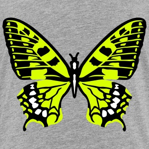 Yellow butterfly Shirts - Kids' Premium T-Shirt