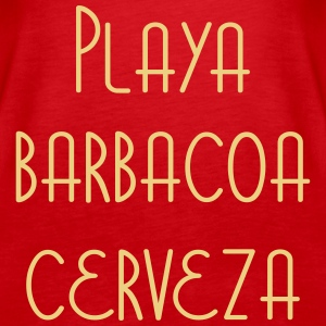 Playa Barbacoa Cerveza Tops - Frauen Premium Tank Top