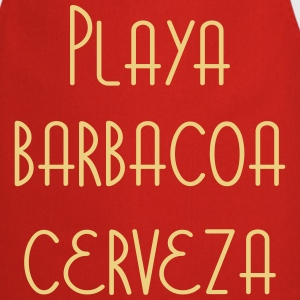 Playa Barbacoa Cerveza  Aprons - Cooking Apron