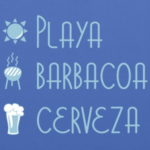 Playa Barbacoa Cerveza Bags & Backpacks - Tote Bag