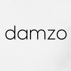 Damzo Simple 2 Sided Text Tee - Men's T-Shirt