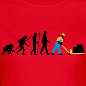 evolution_lagerist_hubwagen_09_201603_3c T-Shirts - Frauen T-Shirt