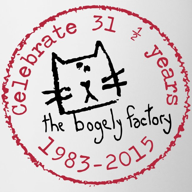 bogely factory anniversary mug
